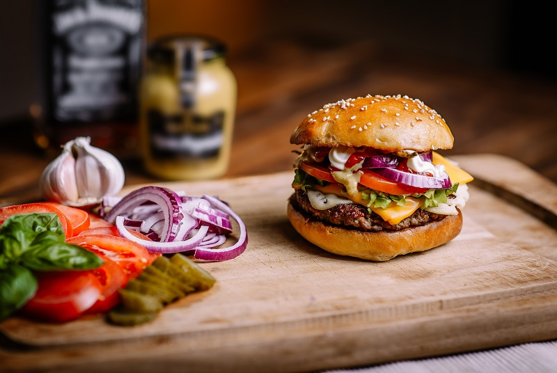 Zdrowy  burger – czy to możliwe?