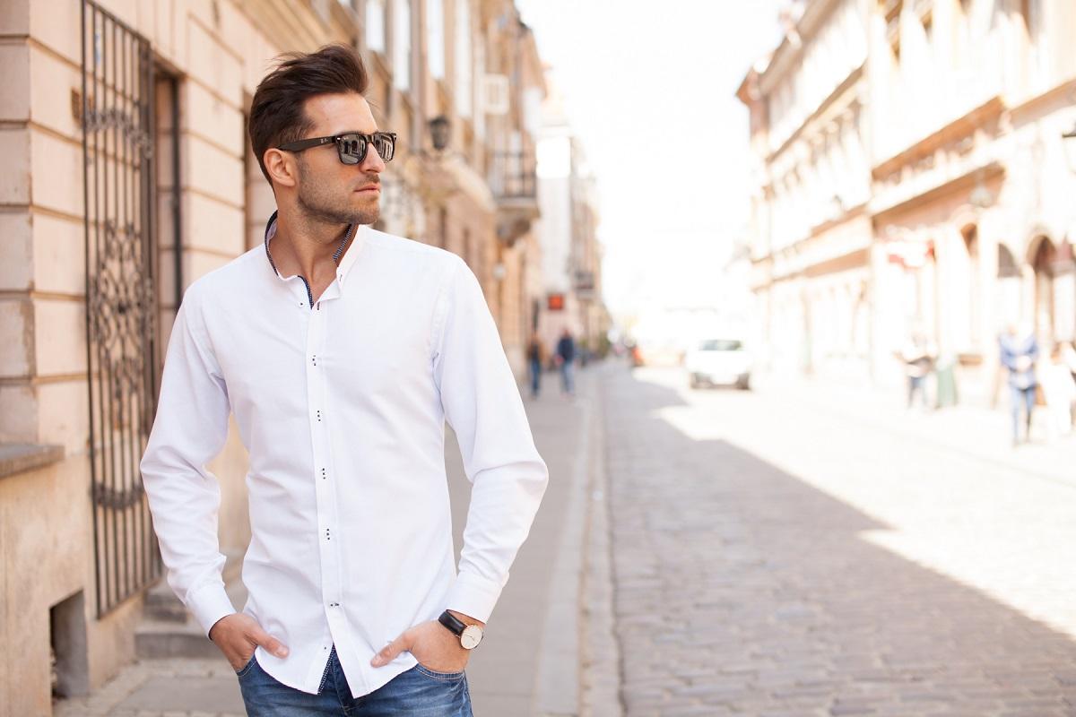Zamiast klasyki koszula ze stójką » Blog o modzie męskiej