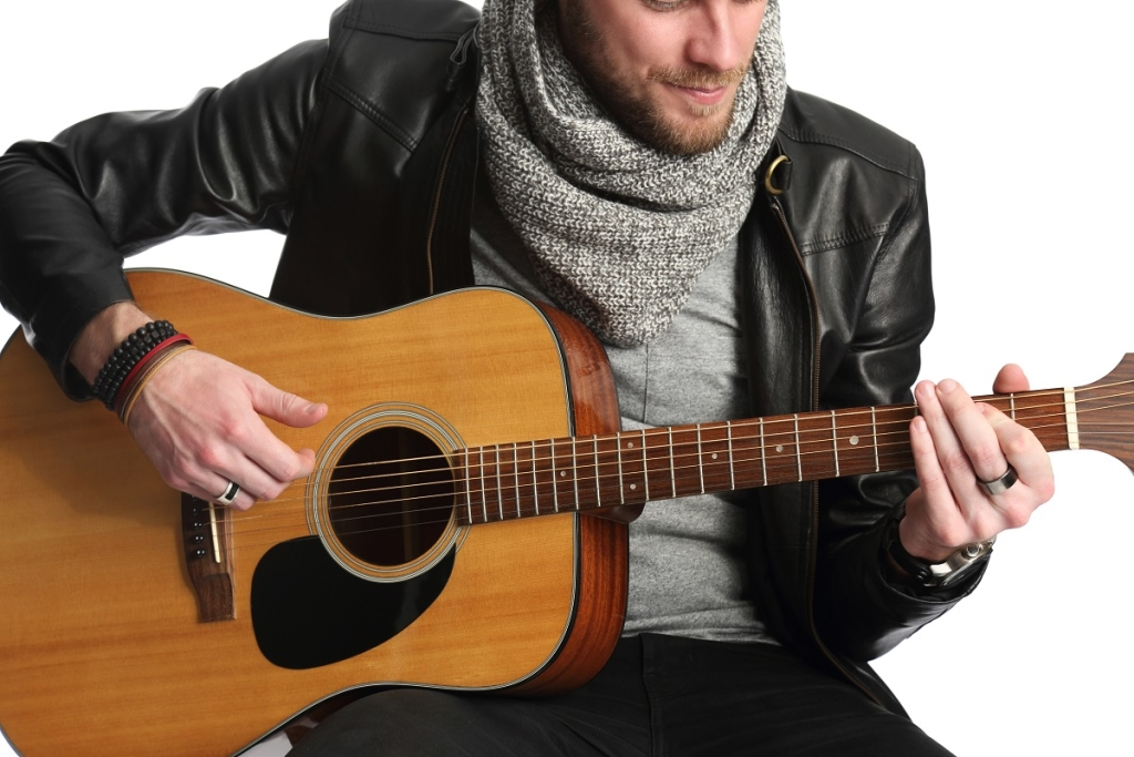 Young singer songwriter