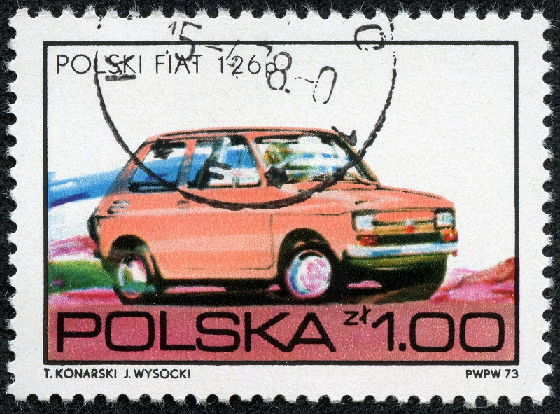 Fiat 126p Tom Hanks