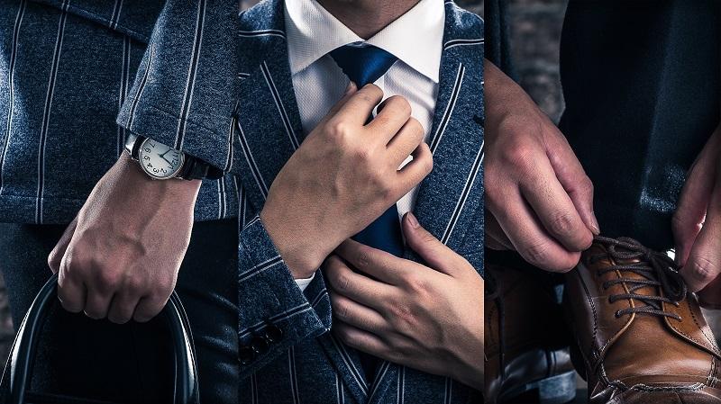 jak nosić garnitur