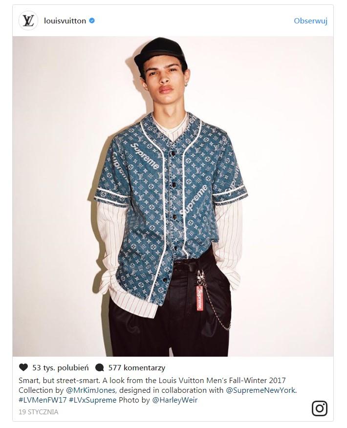 Kolorowy lookbook Supreme i ich kolaboracja z Louis Vuitton