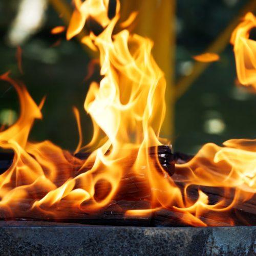 Fire walk with me, czyli ognista stylizacja