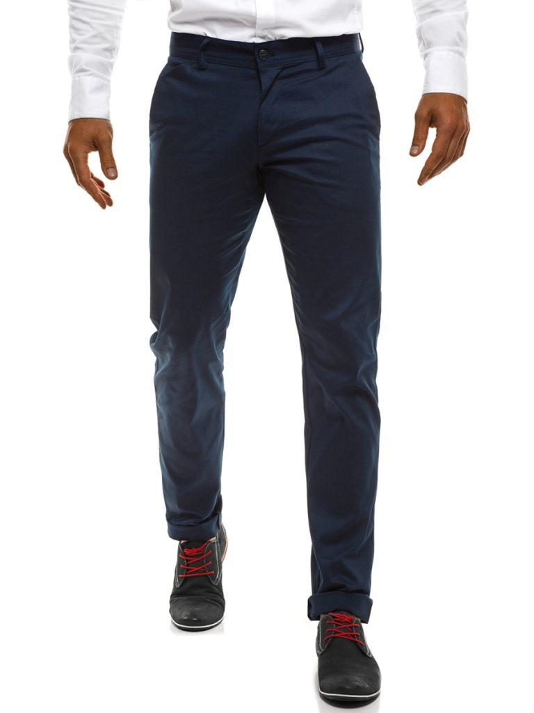 Spodnie z podwiniętymi nogawkami