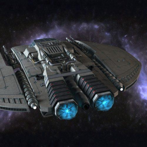 Czarna Pantera - statek kosmiczny