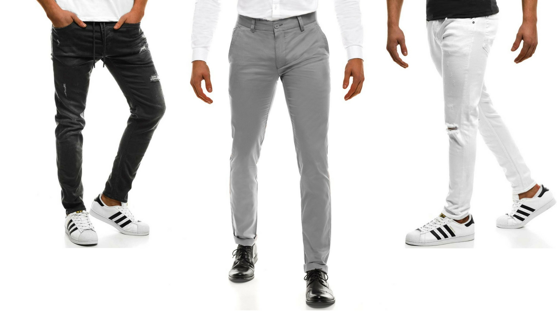 b43d185f Jakie wybrać spodnie do męskiej czarnej koszuli? » Blog o modzie ...