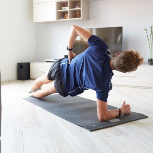 Ćwiczenia w domu bez sprzętu