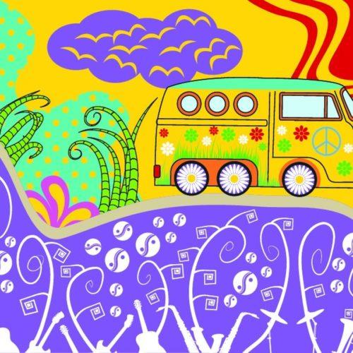 Samochód hippisów