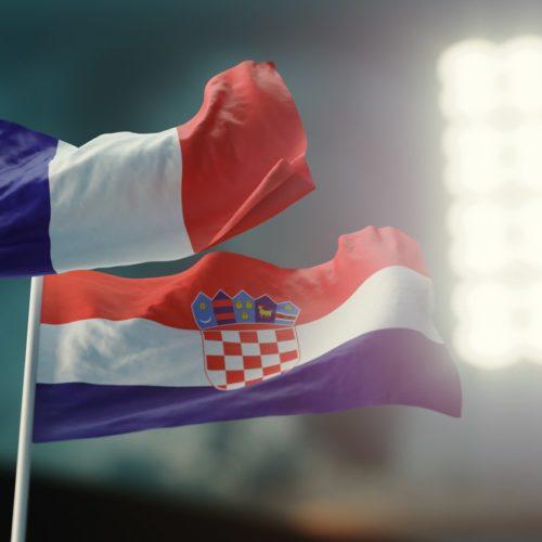 Francja vs Chorwacja, finał mundialu 2018