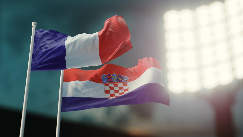 Finał mundialu 2018: Francja vs Chorwacja