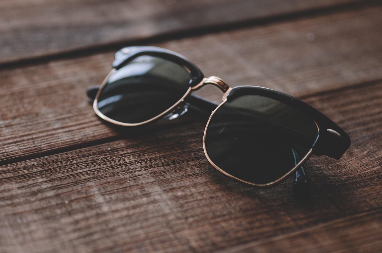 Okulary typu clubmaster
