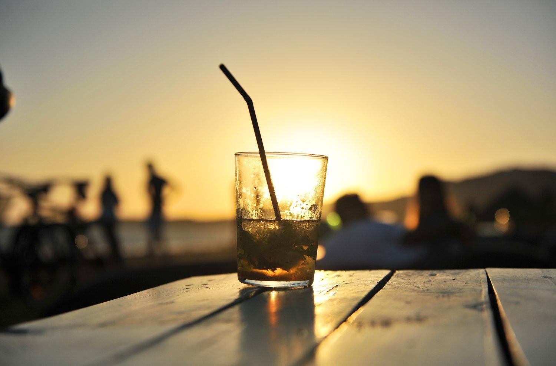 Drink na plaży