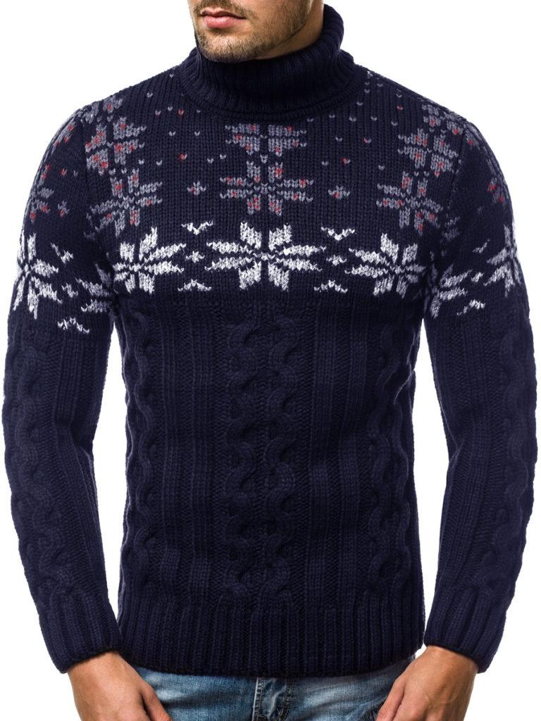 Sweter świąteczny męski