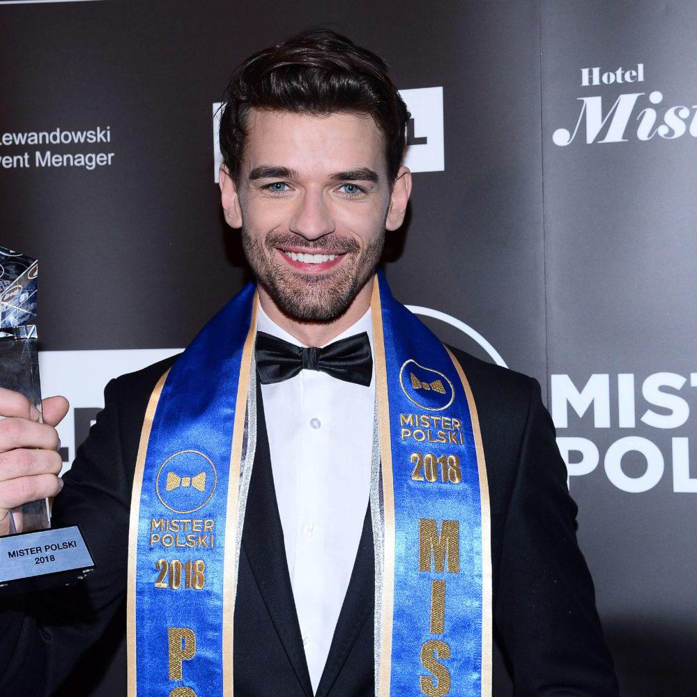 Tomasz Zarzycki Mister Polski 2018