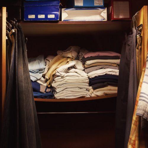 Stare ubrania