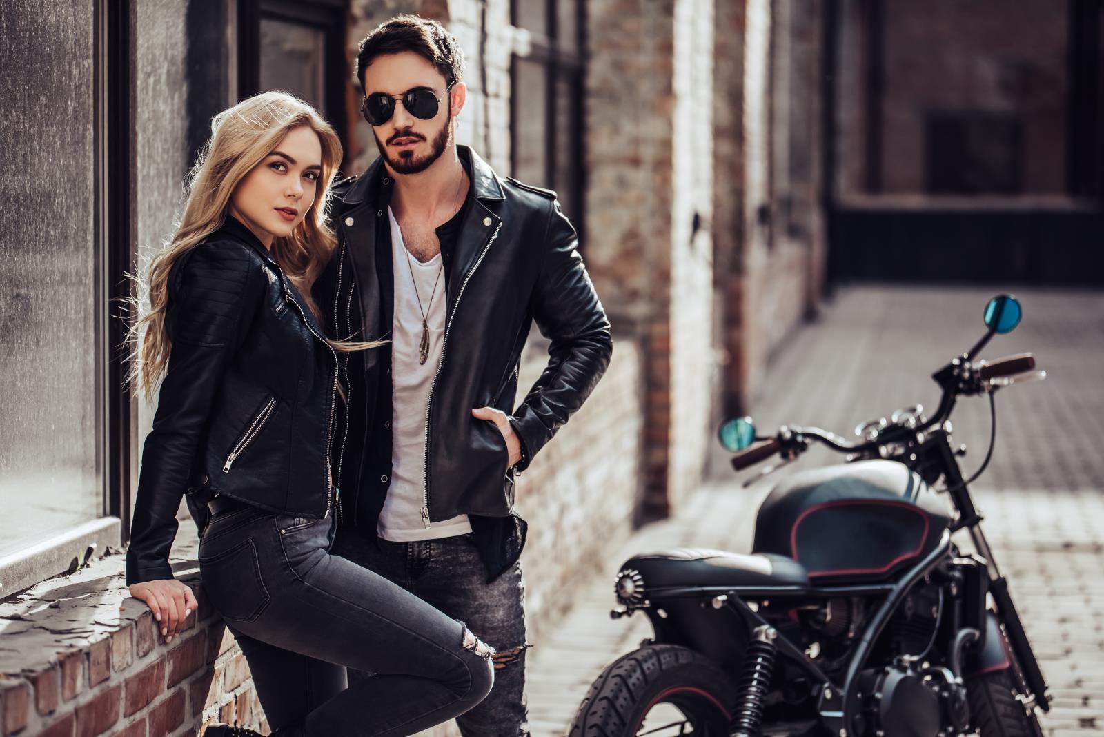 Jak się ubrać na motor wczesną wiosną?