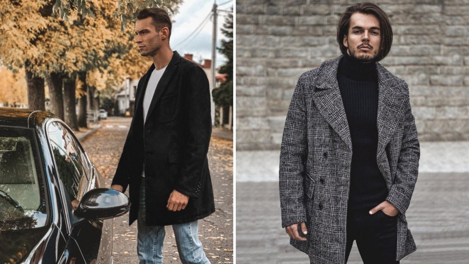 płaszcze męskie