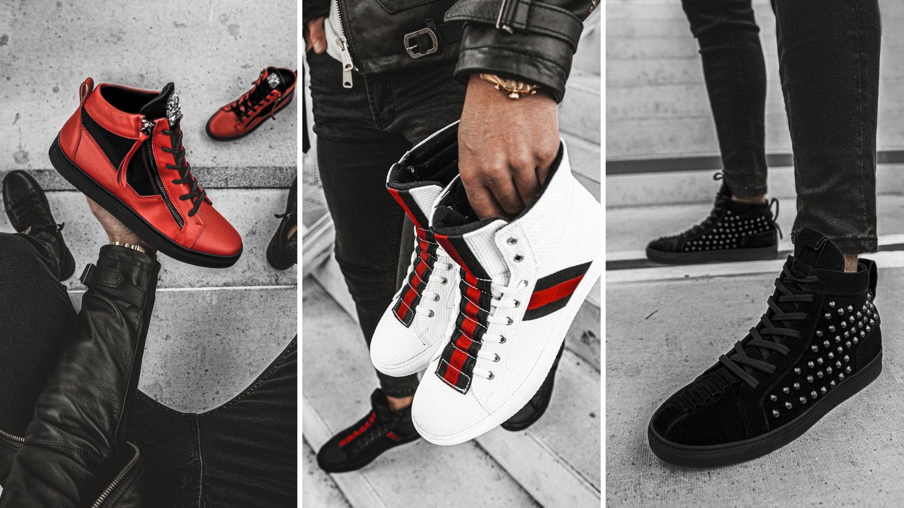 Sneakersy męskie – do jakich spodni je nosić?