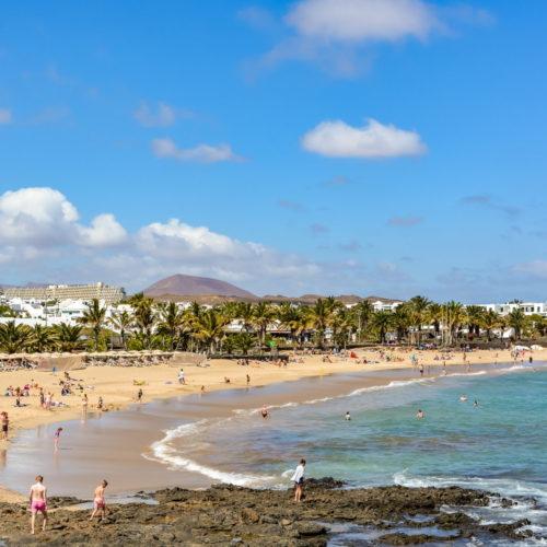 Lanzarote - wyspa, gdzie jest ciepło zimą