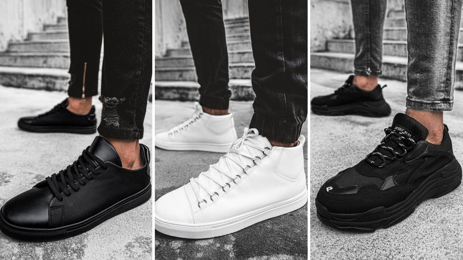 sneakersy męskie