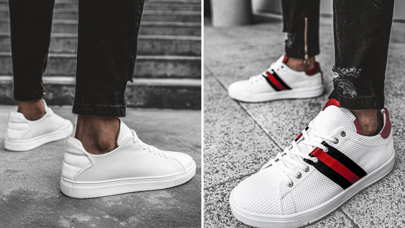 białe sneakersy męskie