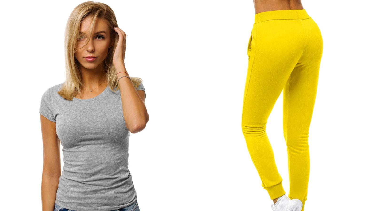 t-shirt i legginsy damskie