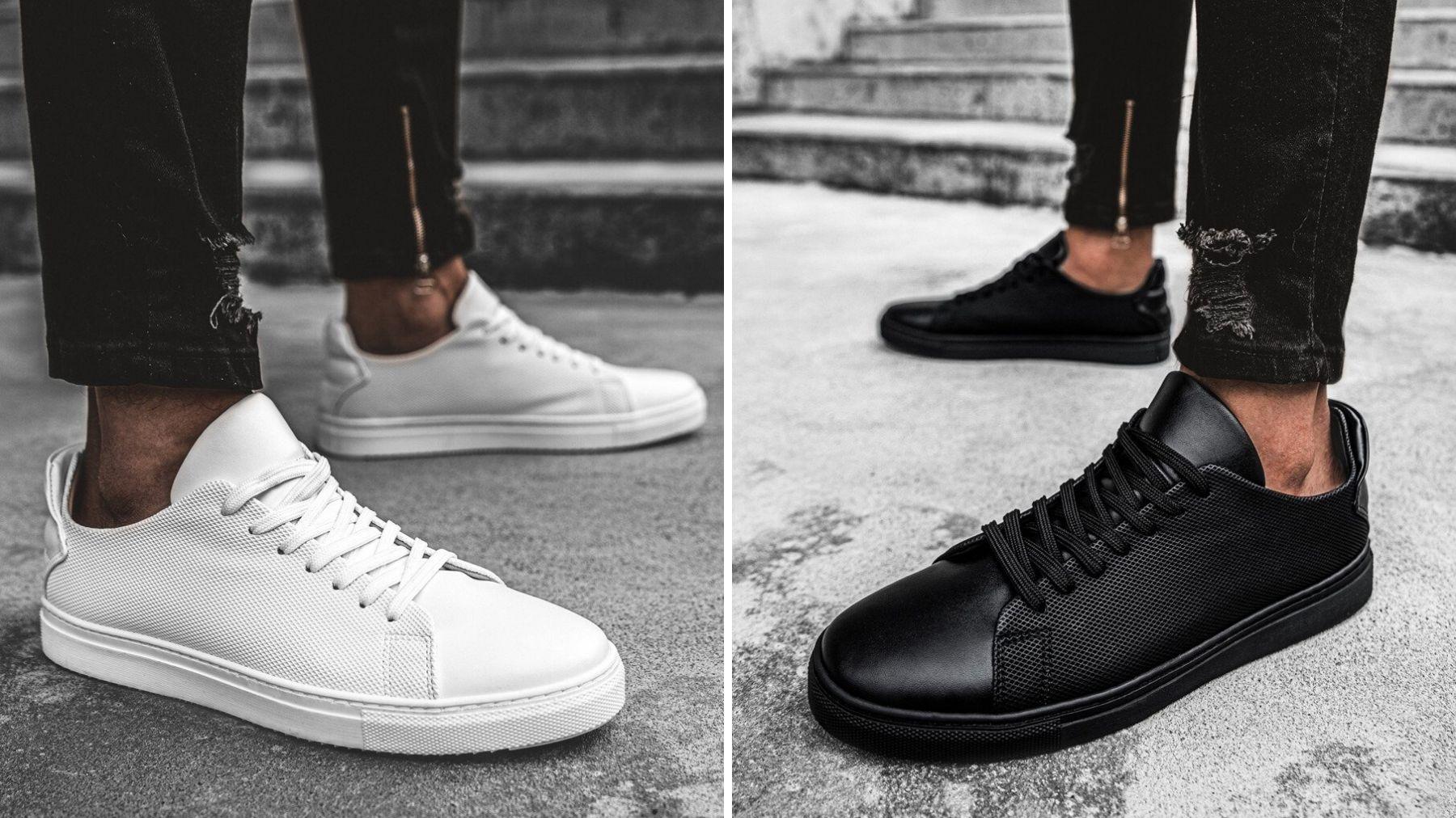 Czarne czy białe sneakersy? Jakie wybrać?