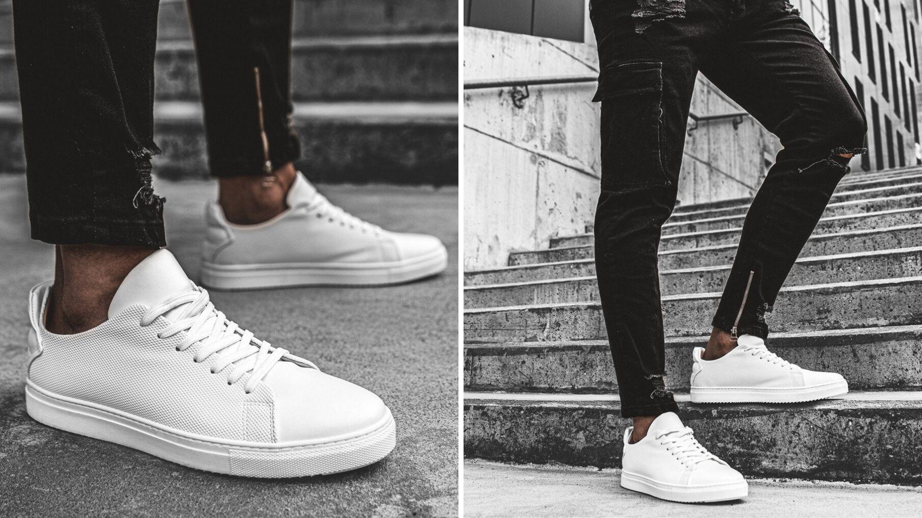 sneakersy białe
