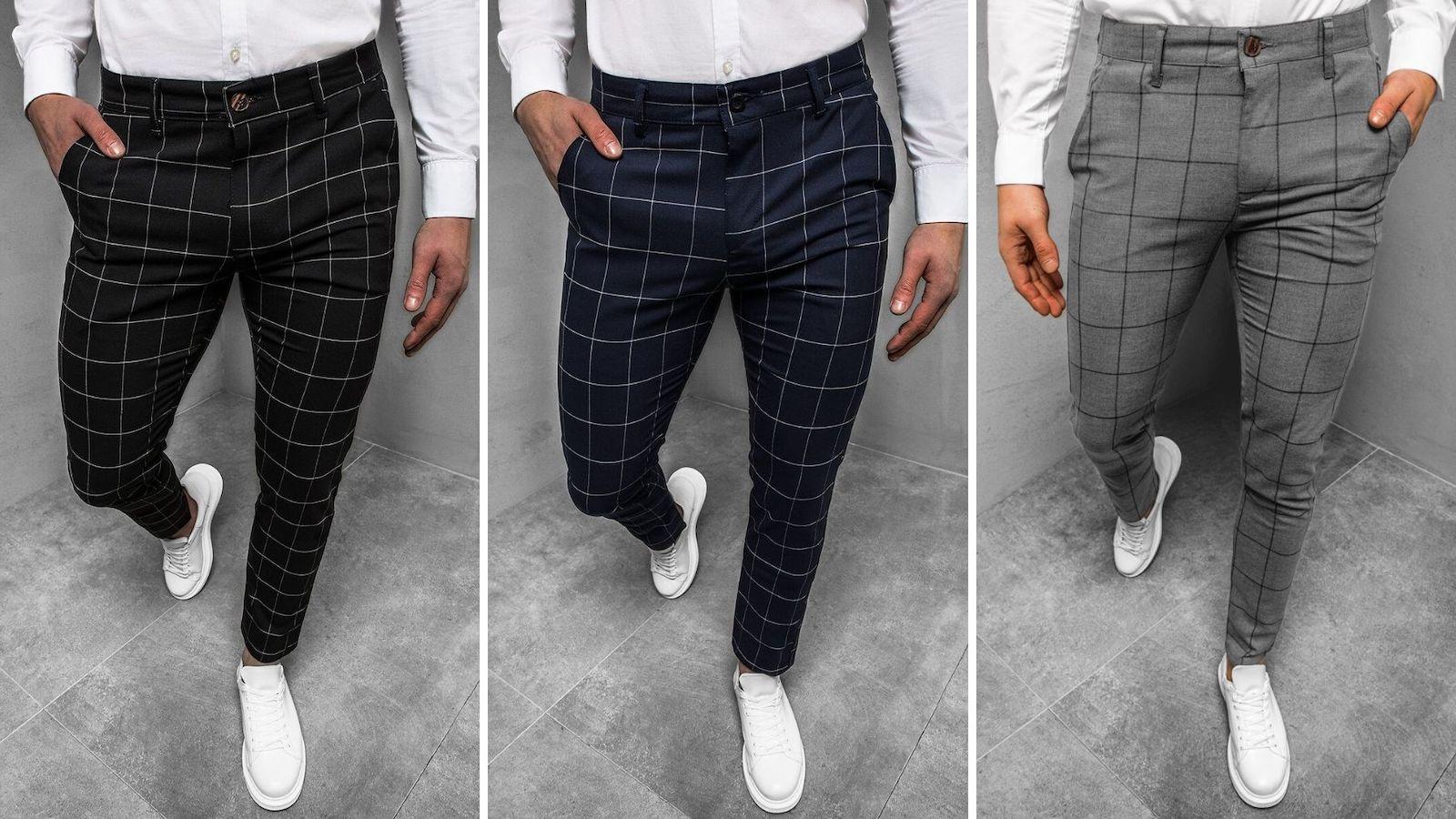 smart casual spodnie