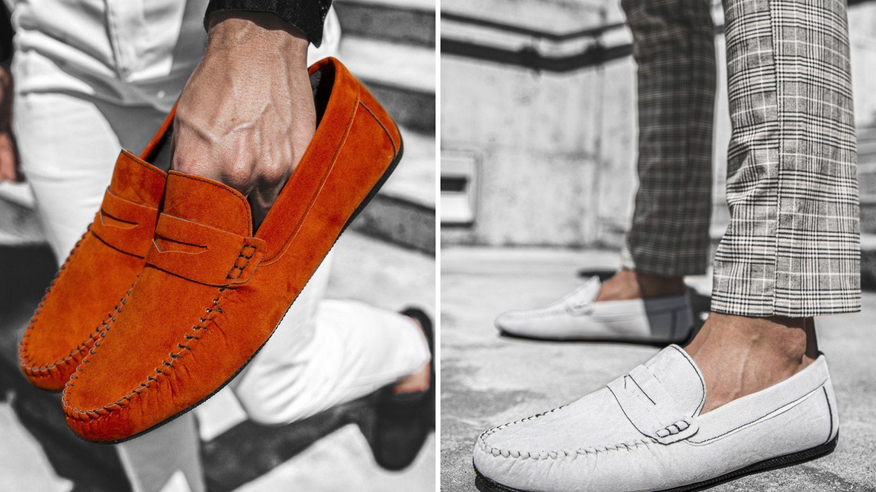 Męskie buty typu slip-on. Z czym je nosić?