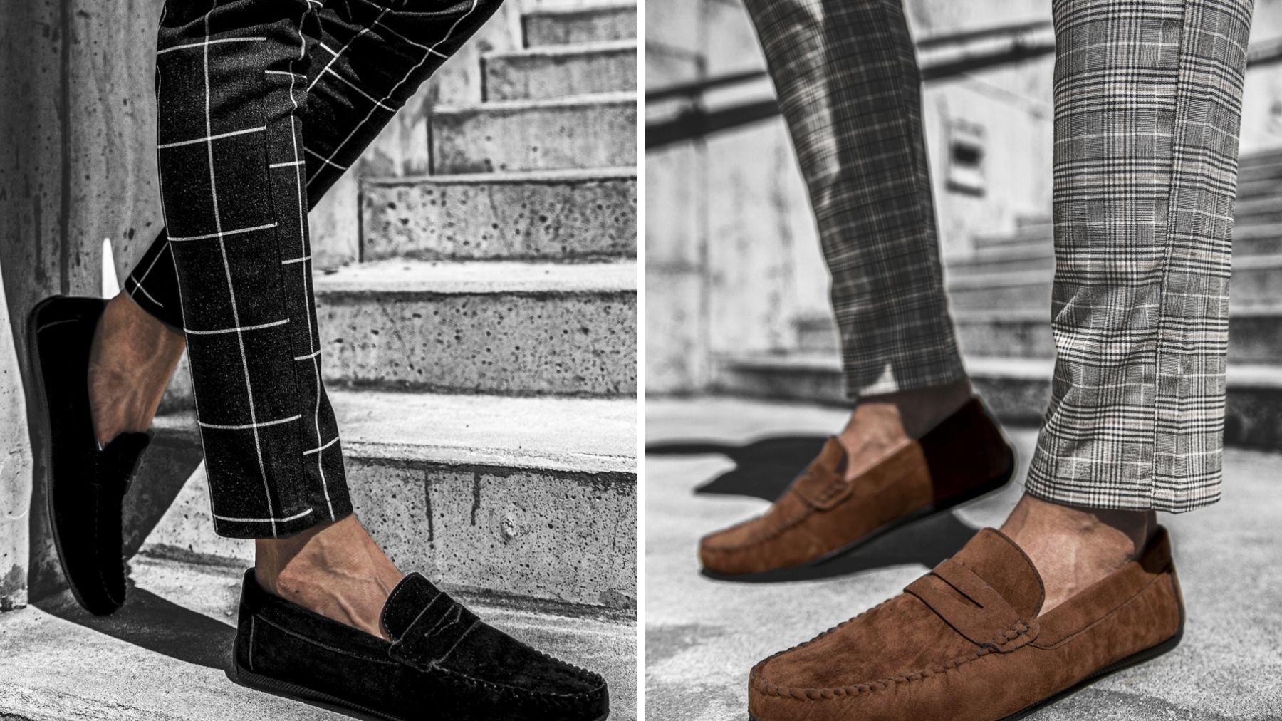 męskie buty slip-on