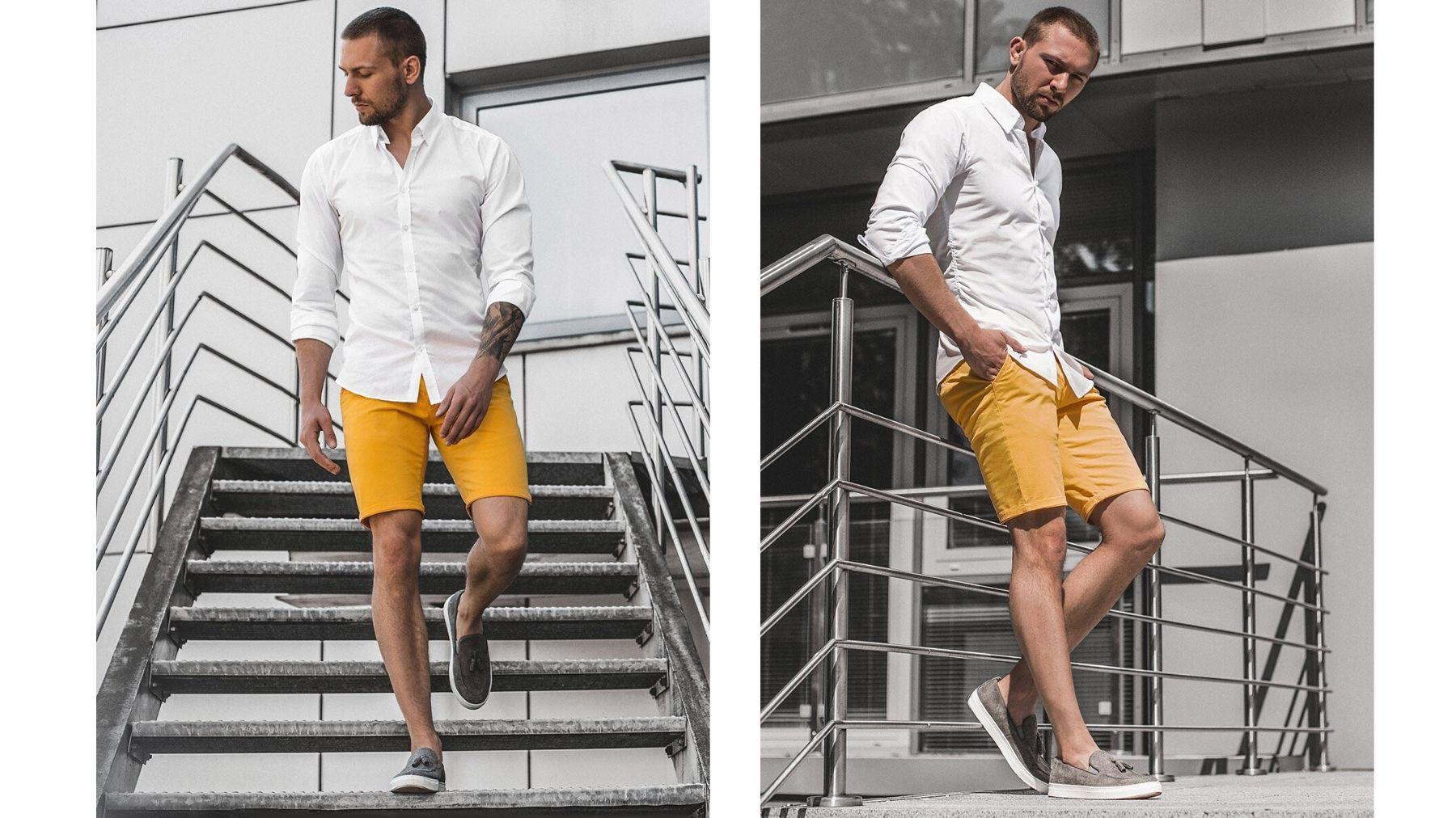 stylizacja letnia męska