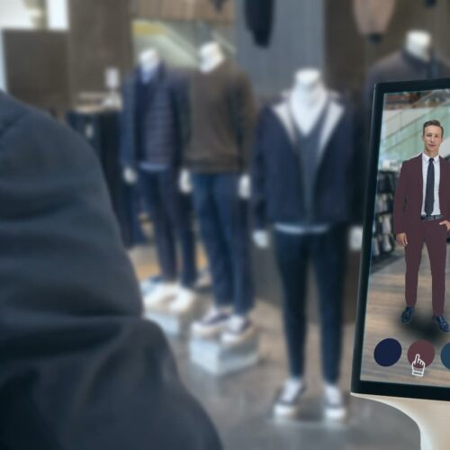 moda męska i sztuczna inteligencja