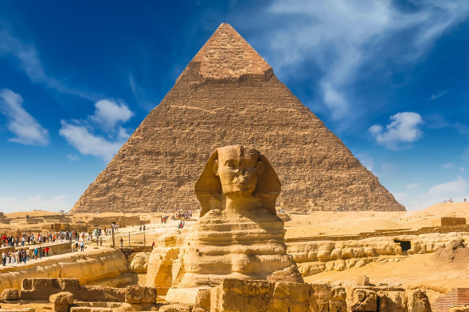 piramida w Gizie