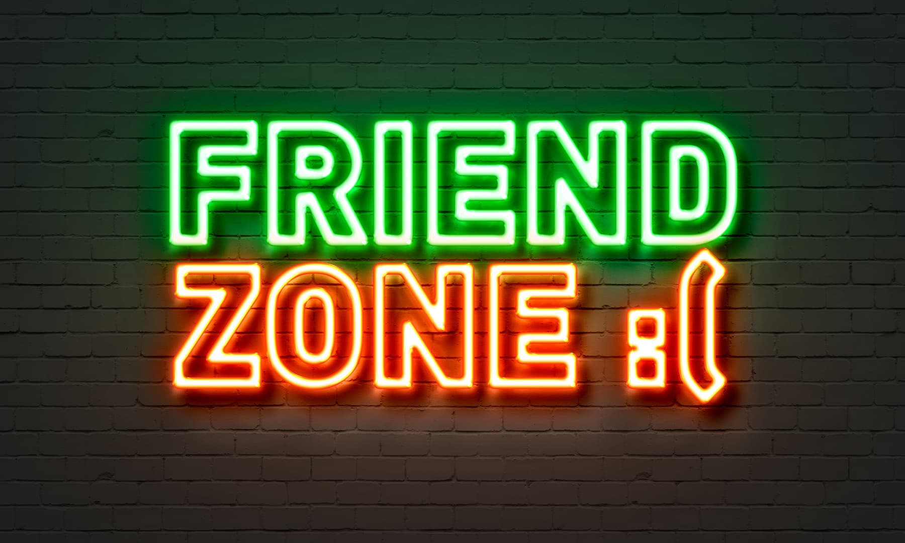 friend zone neon