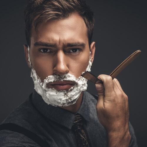 golenie się brzytwą
