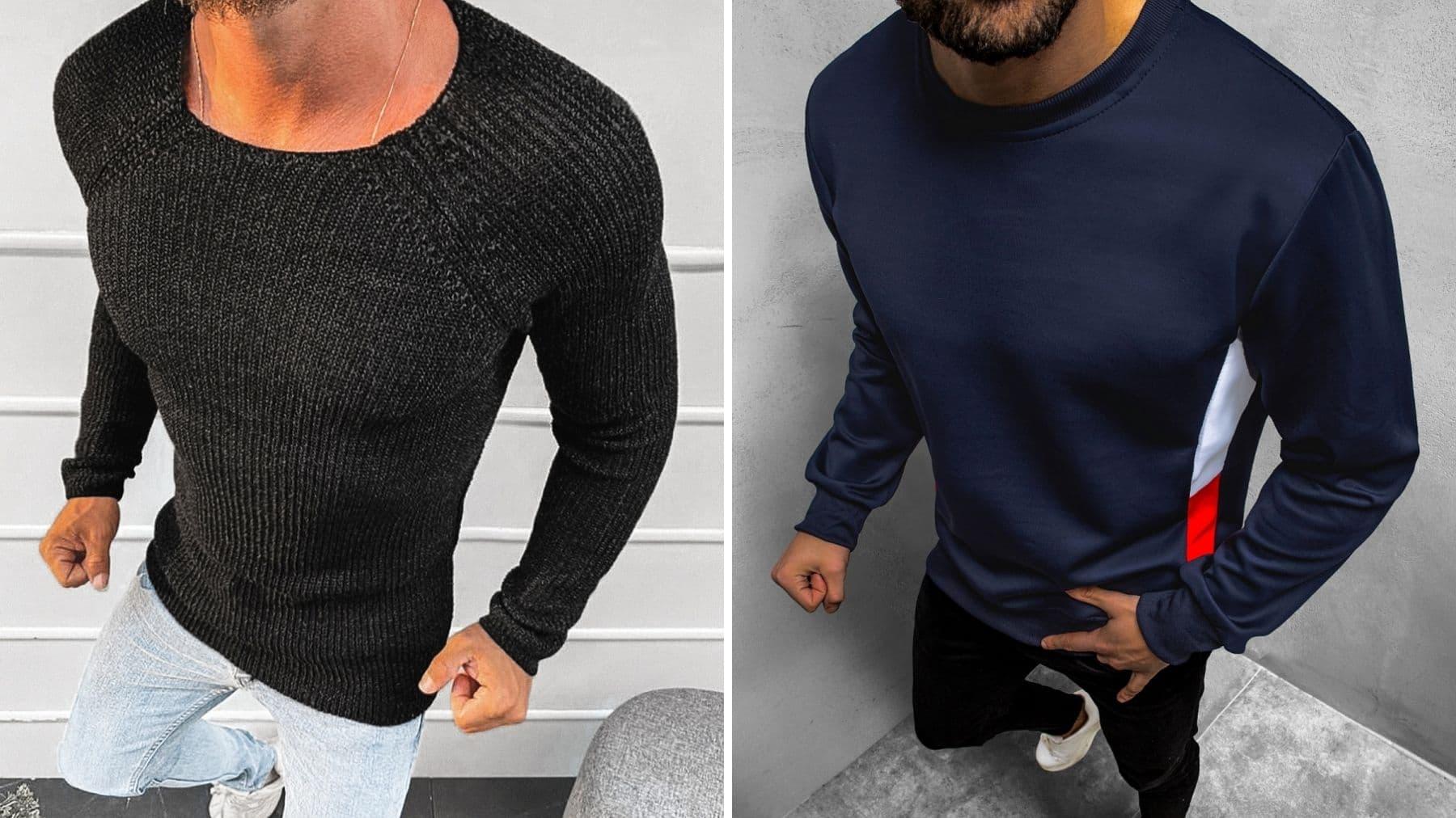 sweter i bluza