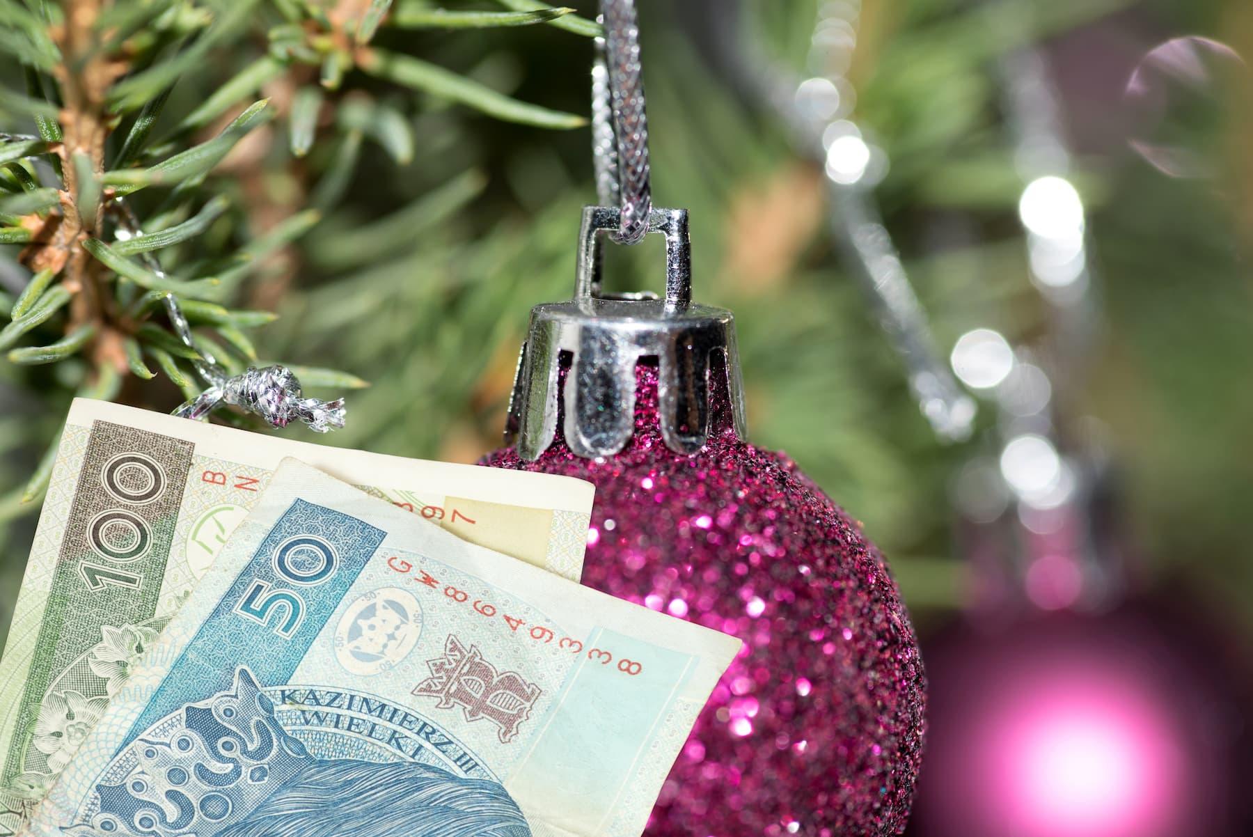 pieniądze święta