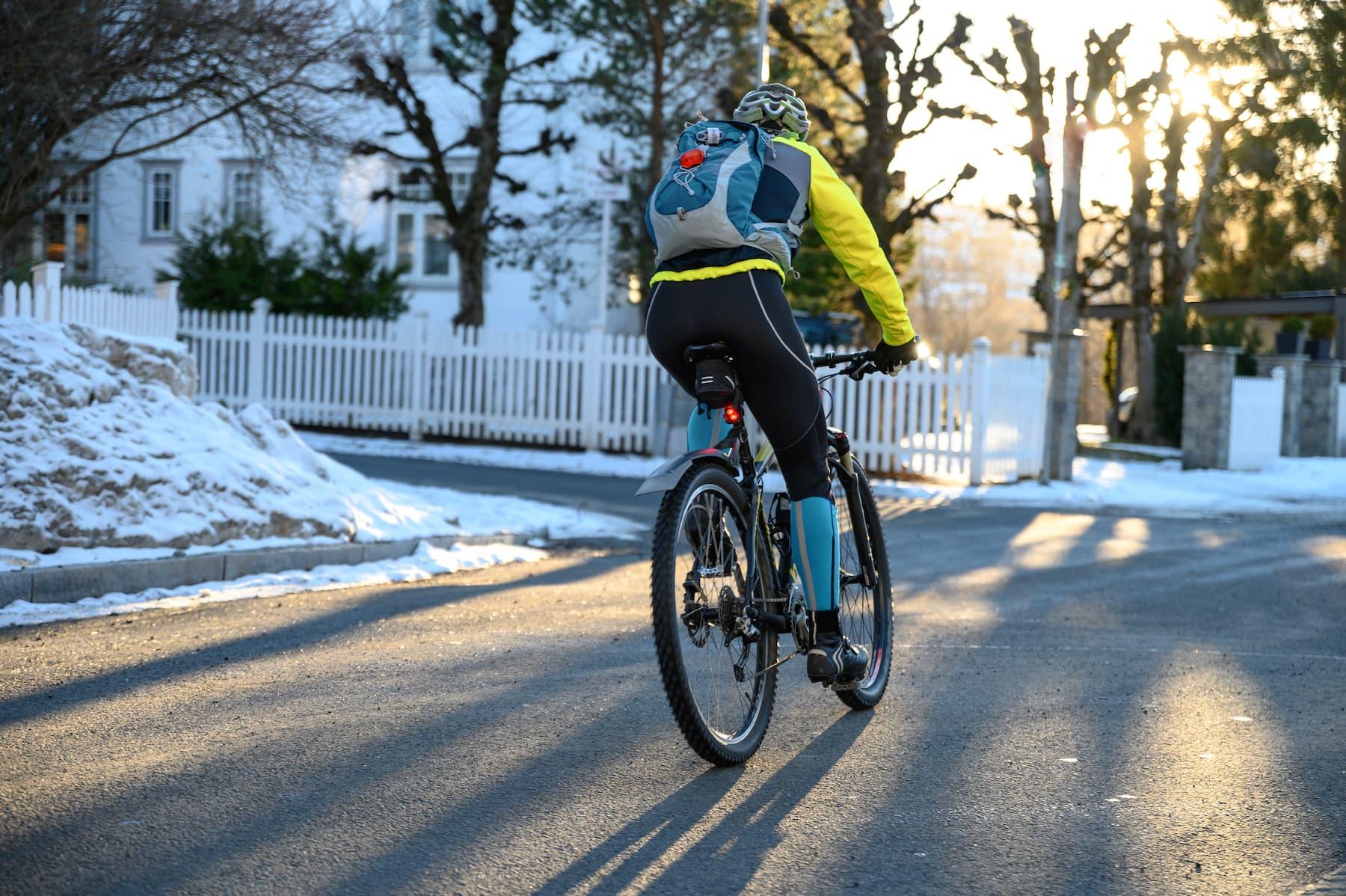 ubranie na rower zimą