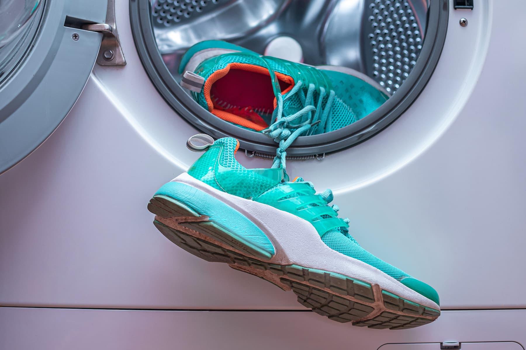 buty w pralce