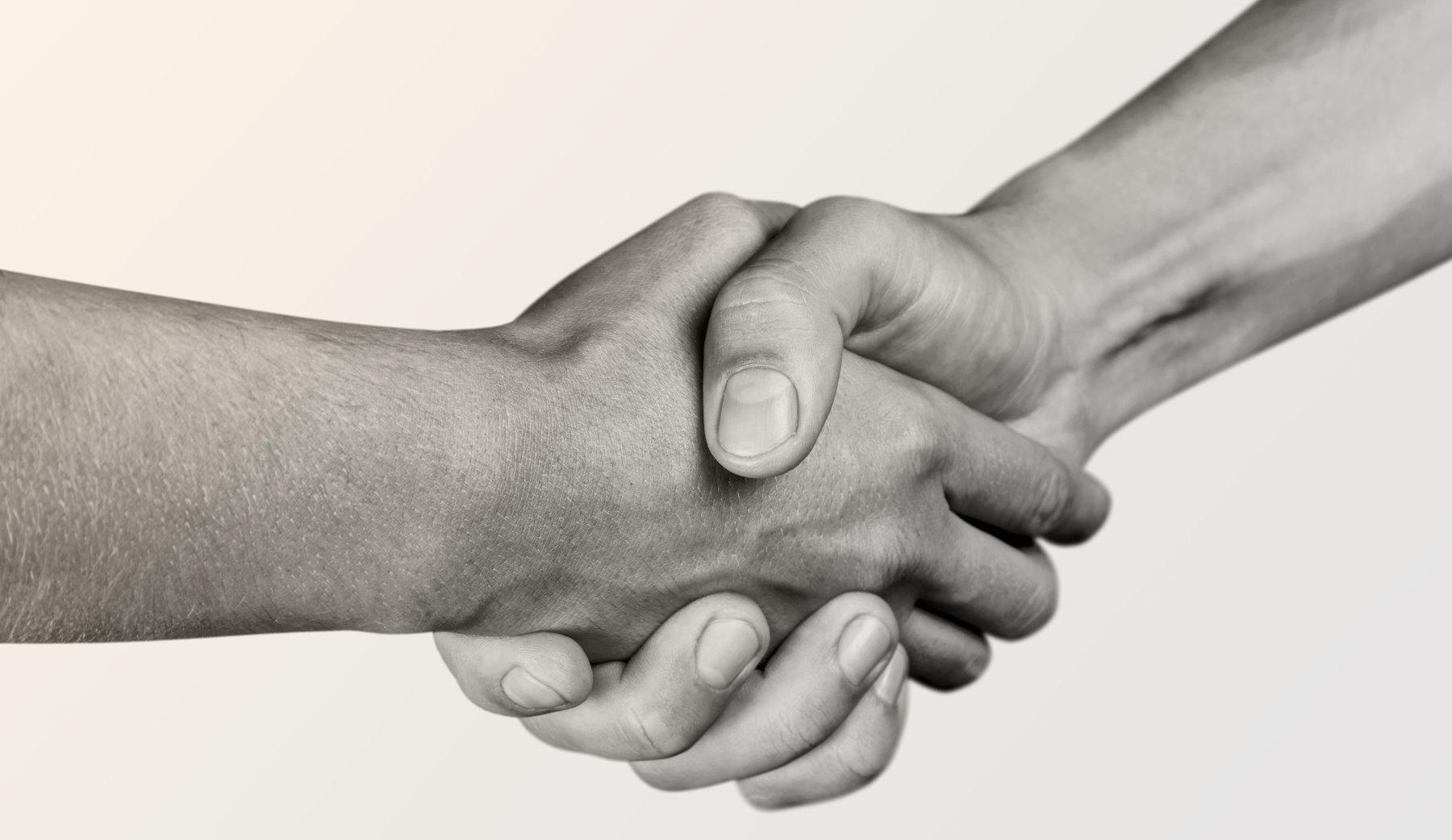 uściśnięcie dłoni