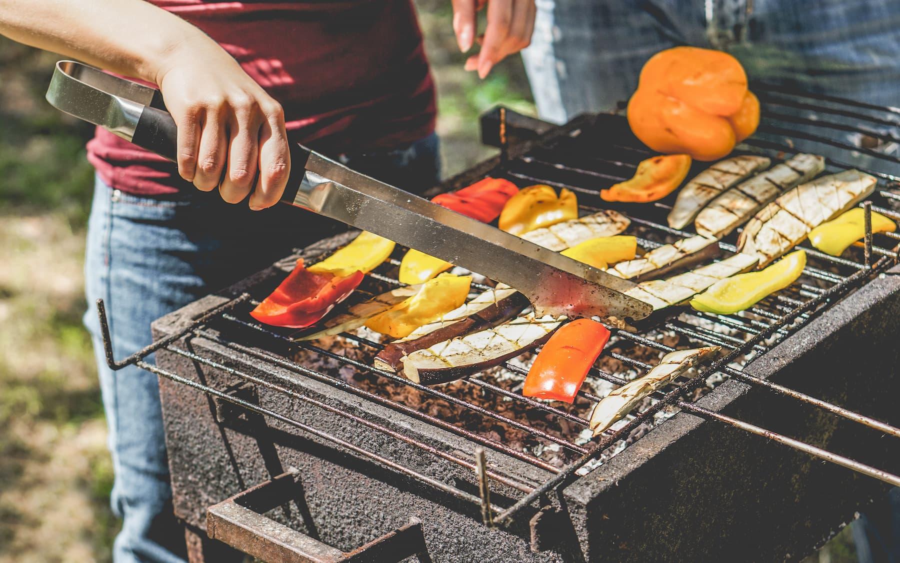 bakłażany na grilla