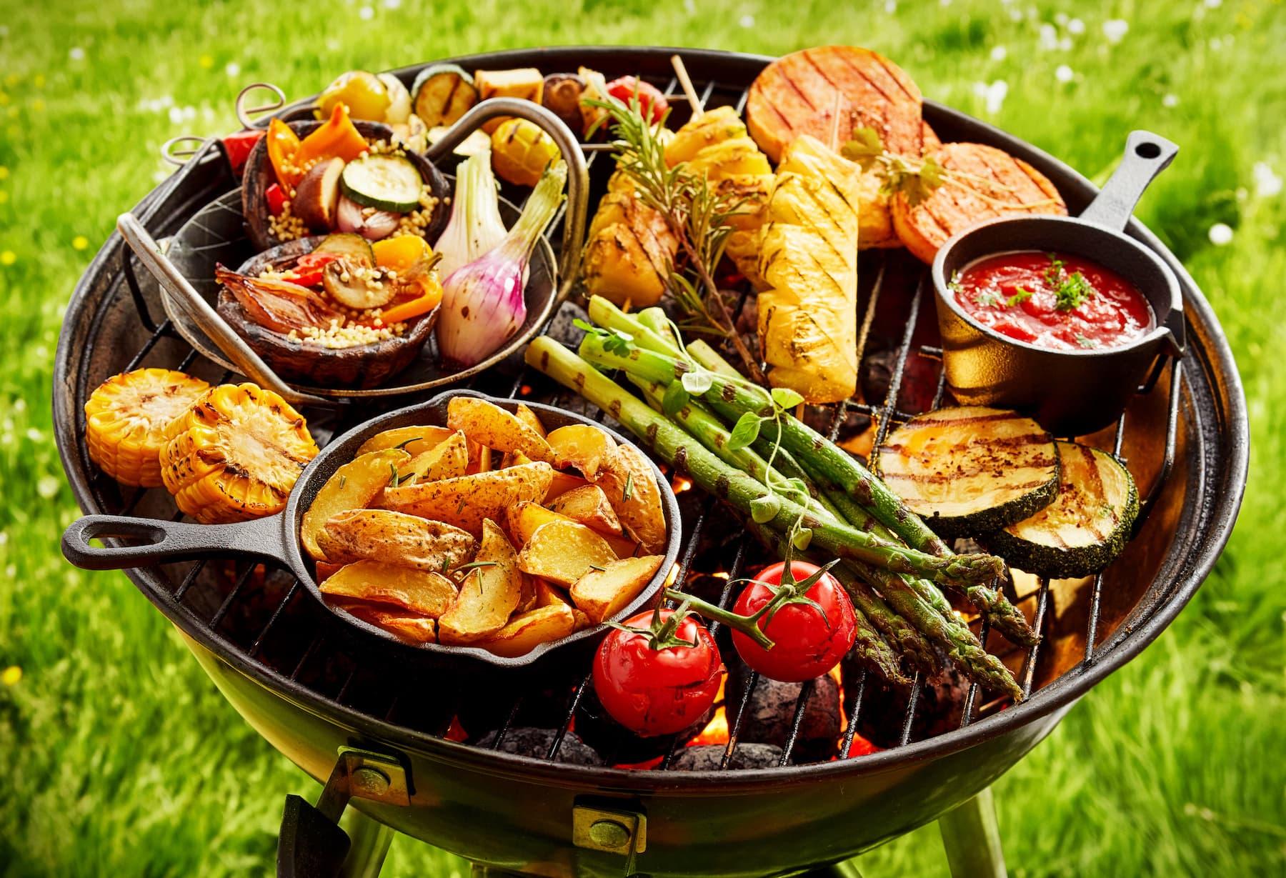 wegetarianski grill