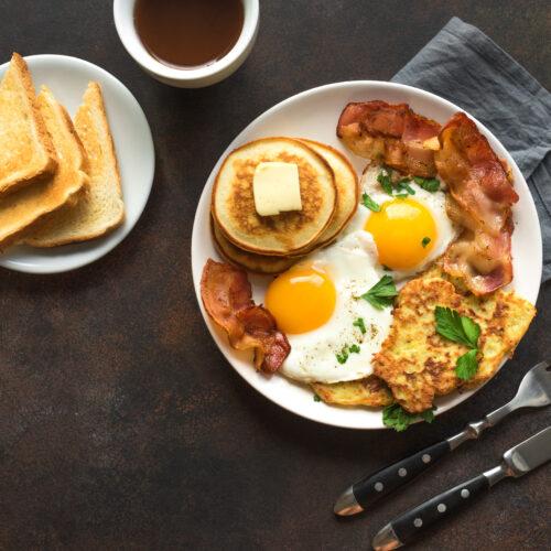 W czym jest dużo białka, śniadanie wysokobiałkowe