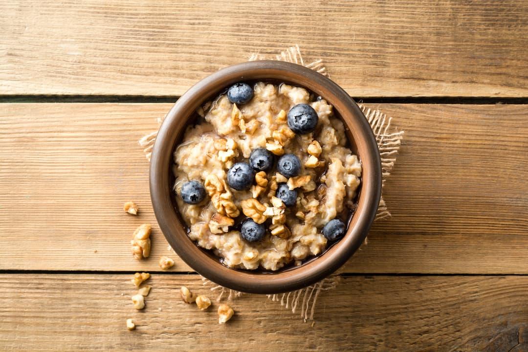 dieta bogata w białko, co jeść na diecie białkowej, owsianka